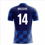 2018-19 Croatia Airo Concept Away Shirt (Brozovic 14)