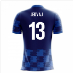 2018-19 Croatia Airo Concept Away Shirt (Jedvaj 13)