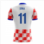 2018-19 Croatia Airo Concept Home Shirt (Srna 11) - Kids