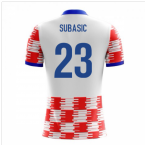 2018-19 Croatia Airo Concept Home Shirt (Subasic 23) - Kids