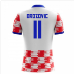 2018-19 Croatia Home Concept Shirt (Brozovic 11)