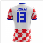 2018-19 Croatia Home Concept Shirt (Jedvaj 13)