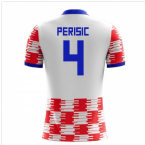 2018-19 Croatia Home Concept Shirt (Perisic 4)