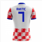 2018-19 Croatia Home Concept Shirt (Rakitic 7)