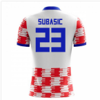 2018-19 Croatia Home Concept Shirt (Subasic 23)