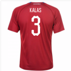 2018-19 Czech Republic Home Shirt (Kalas 3) - Kids
