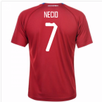 2018-19 Czech Republic Home Shirt (Necid 7) - Kids