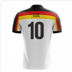 2018-19 Germany Airo Concept Home Shirt (Ozil 10)