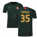 2018-19 Monaco Away Football Shirt (K Ndoram 35) - Kids