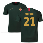 2018-19 Monaco Away Football Shirt (Serrano 21) - Kids