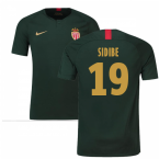 2018-19 Monaco Away Football Shirt (Sidibe 19) - Kids