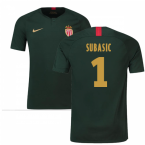 2018-19 Monaco Away Football Shirt (Subasic 1) - Kids