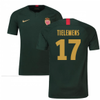 2018-19 Monaco Away Football Shirt (Tielemens 17) - Kids