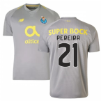 2018-19 Porto Away Football Shirt (Pereira 21) - Kids