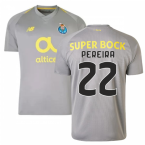 2018-19 Porto Away Football Shirt (Pereira 22) - Kids