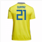 2018-19 Sweden Home Shirt (Durmaz 21)