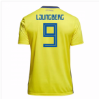 2018-19 Sweden Home Shirt (Ljungberg 9)