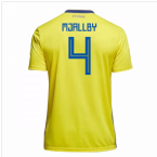 2018-19 Sweden Home Shirt (Mjallby 4)