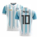 2018-2019 Argentina Home Concept Football Shirt (Messi 10)