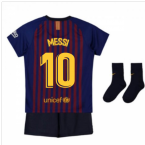 2018-2019 Barcelona Home Nike Baby Kit (Messi 10)