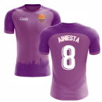 2018-2019 Barcelona Third Concept Football Shirt (A.Iniesta 8)