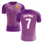 2020-2021 Barcelona Third Concept Football Shirt (Coutinho 7)