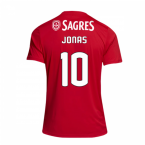 2018-2019 Benfica Adidas Home Football Shirt (Jonas 10)
