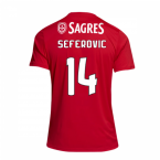 2018-2019 Benfica Adidas Home Football Shirt (Seferovic 14)