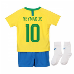 2018-2019 Brazil Home Nike Baby Kit (Neymar Jr 10)