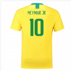 2018-2019 Brazil Home Nike Football Shirt (Neymar Jr 10) - Kids