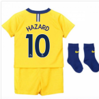 2018-2019 Chelsea Away Nike Baby Kit (Hazard 10)