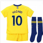 2018-2019 Chelsea Away Nike Little Boys Mini Kit (Hazard 10)