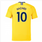 2018-2019 Chelsea Nike Vapor Away Match Shirt (Hazard 10)