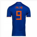 2018-2019 Colombia Away Adidas Football Shirt (Falcao 9) - Kids