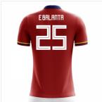 2018-2019 Colombia Away Concept Football Shirt (E.Balanta 25) - Kids