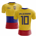 2018-2019 Colombia Flag Concept Football Shirt (Valderrama 10) - Kids