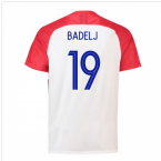 2018-2019 Croatia Home Nike Football Shirt (Badelj 19) - Kids