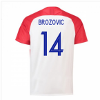 2018-2019 Croatia Home Nike Football Shirt (Brozovic 14) - Kids