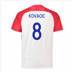 2018-2019 Croatia Home Nike Football Shirt (Kovacic 8) - Kids