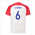 2018-2019 Croatia Home Nike Football Shirt (Lovren 6) - Kids