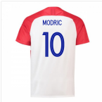 2018-2019 Croatia Home Nike Football Shirt (Modric 10) - Kids