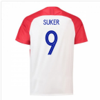 2018-2019 Croatia Home Nike Football Shirt (Suker 9) - Kids