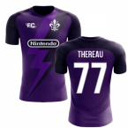 2018-2019 Fiorentina Fans Culture Home Concept Shirt (Thereau 77) - Kids