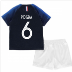 2018-2019 France Home Nike Mini Kit (Pogba 6)