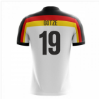 2020-2021 Germany Home Concept Football Shirt (Gotze 19)