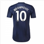 2018-2019 Man Utd Adidas Third Adi Zero Football Shirt (Ibrahimovic 10)