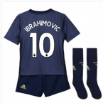 2018-2019 Man Utd Adidas Third Little Boys Mini Kit (Ibrahimovic 10)
