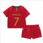 2018-2019 Portugal Home Nike Baby Kit (Ronaldo 7)
