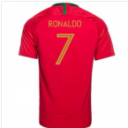 2018-2019 Portugal Home Nike Football Shirt (Ronaldo 7) - Kids