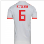 2018-2019 Spain Away Adidas Football Shirt (A Iniesta 6) - Kids